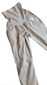 Motherhood Maternity Cargo Maternity Pants- Tan