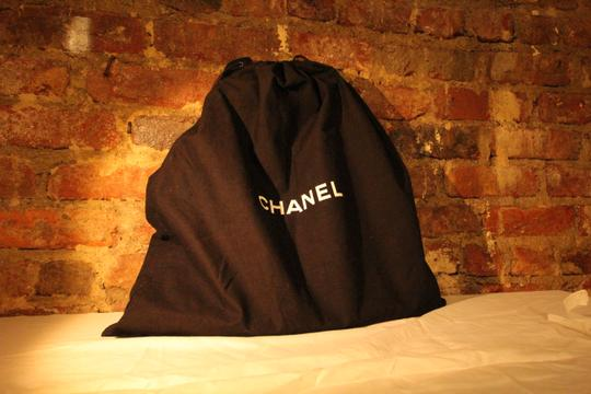 Chanel Caviar Leather Quilted Hobo Anitque Satchel in Black Image 1