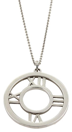 Preload https://img-static.tradesy.com/item/21001596/tiffany-and-co-white-gold-atlas-18k-large-roman-numeral-pendant-necklace-0-1-540-540.jpg