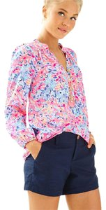Lilly Pulitzer Top Coral Crab