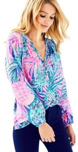 Lilly Pulitzer Top Gypset Paradise