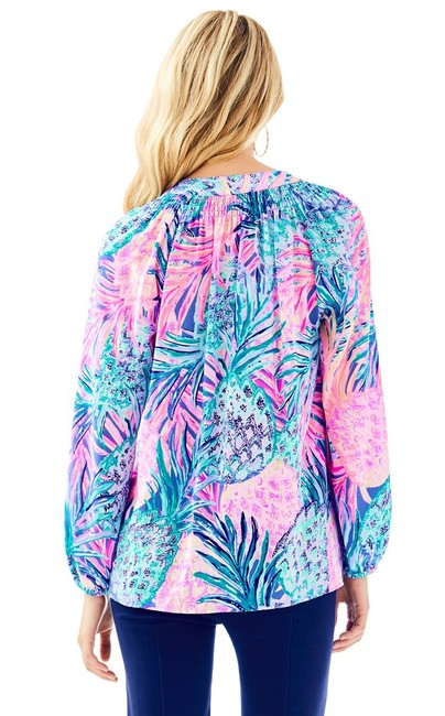 Lilly Pulitzer Top Gypset Paradise Image 1