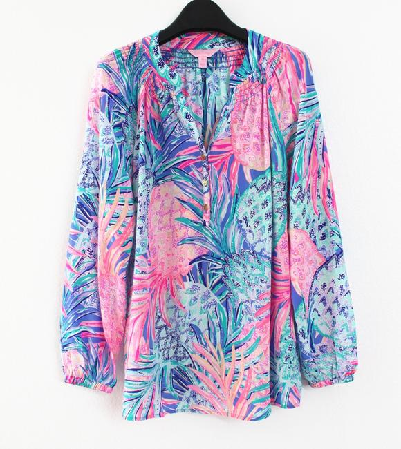 Lilly Pulitzer Top Gypset Paradise Image 3