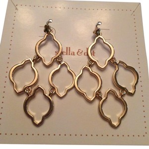 Stella & Dot Arabesque Chandelier earrings