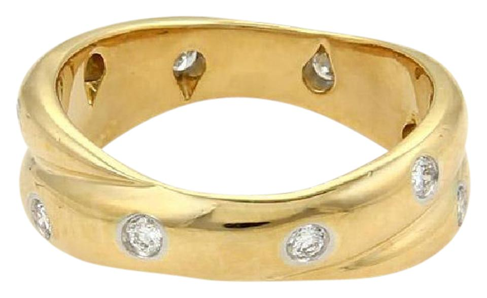 yellow men band wedding gold ring m p platinum s and