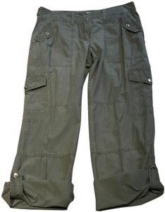 Michael Kors Cargoes Size 8 Cargo Pants Olive Green