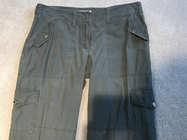 Michael Kors Cargoes Size 8 Cargo Pants Olive Green Image 1