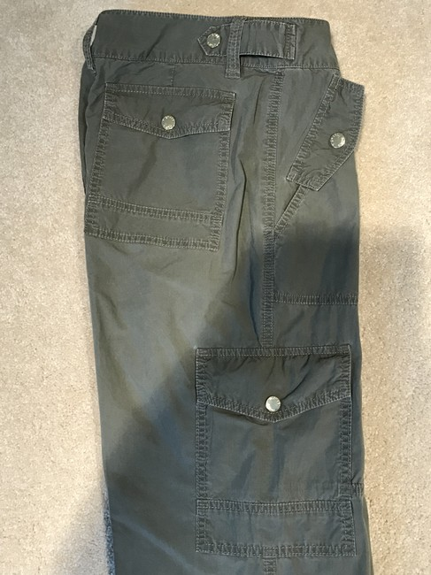 Michael Kors Cargoes Size 8 Cargo Pants Olive Green Image 3