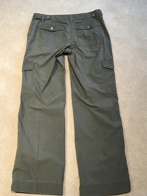 Michael Kors Cargoes Size 8 Cargo Pants Olive Green Image 4