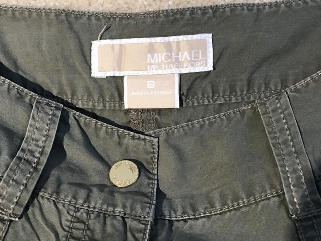 Michael Kors Cargoes Size 8 Cargo Pants Olive Green Image 7