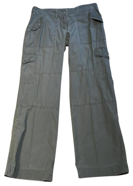 Michael Kors Cargoes Size 8 Cargo Pants Olive Green Image 8