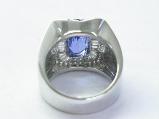 Other 18Kt Gem Tanzanite Multi Shape Diamond White Gold Jewelry Ring 7.08CT Image 1