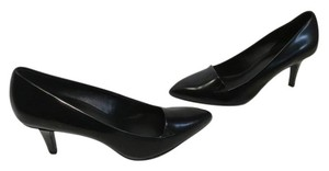 Theory Black patent leather leather lining padded insoles E36 Pumps