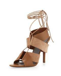 Alexander Wang Suede Leather Wang Laces brown/truffle Sandals