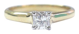 Tiffany & Co. Tiffany & Co 18Kt Lucida Diamond Solitaire Engagement Ring .39Ct F-VS1