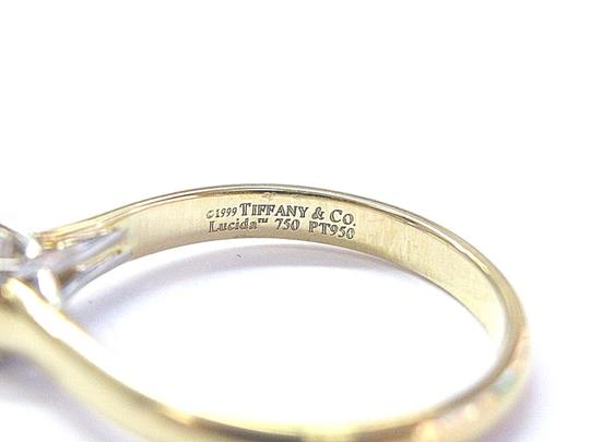 Tiffany & Co. Tiffany & Co 18Kt Lucida Diamond Solitaire Engagement Ring .39Ct F-VS1 Image 1