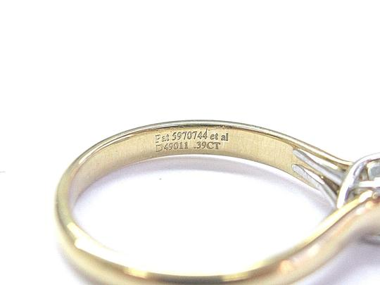 Tiffany & Co. Tiffany & Co 18Kt Lucida Diamond Solitaire Engagement Ring .39Ct F-VS1 Image 2