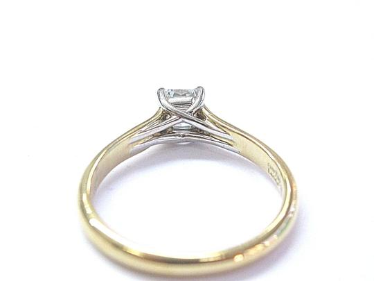 Tiffany & Co. Tiffany & Co 18Kt Lucida Diamond Solitaire Engagement Ring .39Ct F-VS1 Image 4