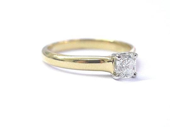 Tiffany & Co. Tiffany & Co 18Kt Lucida Diamond Solitaire Engagement Ring .39Ct F-VS1 Image 6
