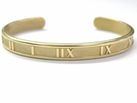 Tiffany & Co. Tiffany & Co 18KT Atlas Cuff Bracelet Yellow Gold Image 1