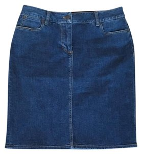 Talbots Skirt blue denim
