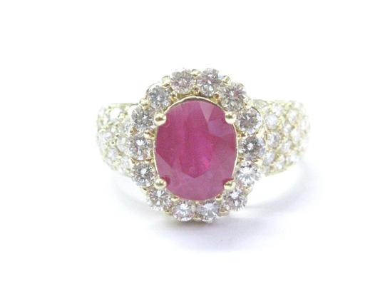 Preload https://img-static.tradesy.com/item/21001992/pink-18kt-gem-ruby-diamond-yellow-gold-anniversary-412ct-ring-0-0-540-540.jpg