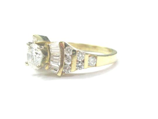 Other 18Kt Round & Baguette Diamond Yellow Gold Engagement Ring 1.86Ct Image 1
