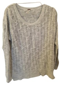 Free People Beachy Hippie Cable Knit Sweater
