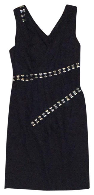 Preload https://img-static.tradesy.com/item/21002112/thakoon-black-with-silver-embellished-mid-length-cocktail-dress-size-8-m-0-1-650-650.jpg
