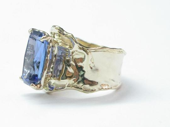 Other Fine Gem Tanzanite Yellow Gold Anniversary Solitaire Ring 5.43Ct Image 1
