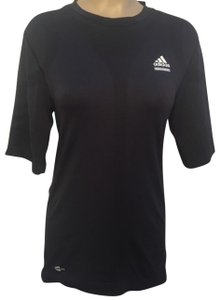 adidas Tech Fit Blue Athletic Tee