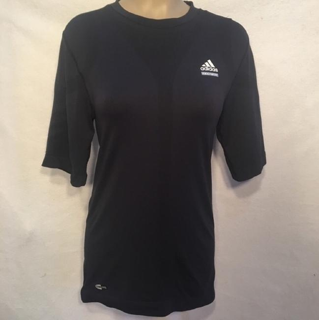 adidas Tech Fit Blue Athletic Tee Image 6