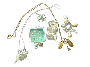 JK by Thirty-One Jewel Kade grouping of necklaces and charms