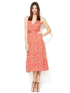 red multi Maxi Dress by Marc by Marc Jacobs Silk Cotton Knit Maxi Xs Summer