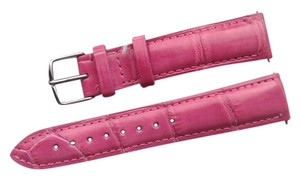 Michele 18mm Rose Alligator Watch Band Strap MS18AA010652