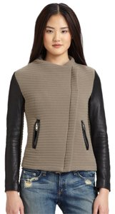 IRO Vince Theory Rag Bone Veda Helmut Lang Taupe/Black Leather Jacket