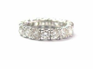 Other Fine Round Cut Diamond Eternity Band Ring 4.00Ct Sz 6.25