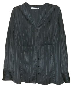 Croft & Barrow Button Down Shirt Black
