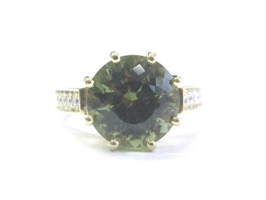 Preload https://img-static.tradesy.com/item/21002660/green-18kt-gem-tourmaline-diamond-solitaire-with-accent-rin-ring-0-0-540-540.jpg