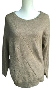 Vince Buttons Wool Yak Dolman Sleeves Button Back Sweater