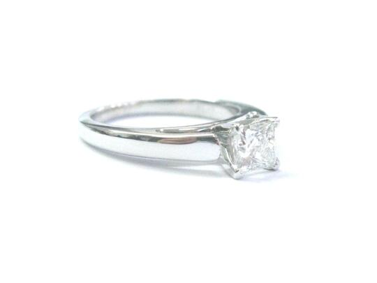 Other Fine THE LEO Princess Cut Diamond Solitaire Engagement Ring .69Ct G-SI Image 2