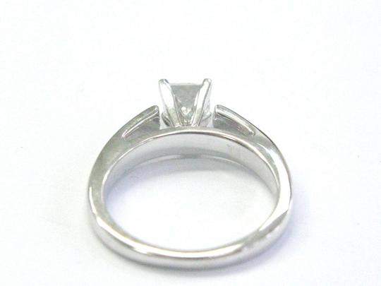 Other Fine THE LEO Princess Cut Diamond Solitaire Engagement Ring .69Ct G-SI Image 5