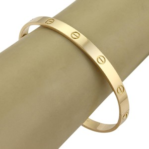 Cartier Cartier Love Bangle Bracelet in 18k Yellow Gold W/ Screwdriver 21