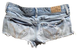 Hollister Denim Shorts-Light Wash
