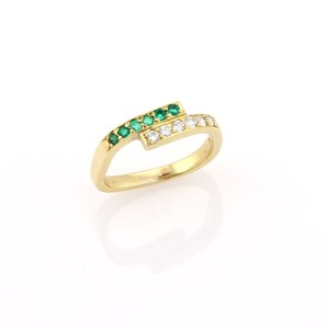 Cartier Cartier Diamonds & emeralds Wrap Ring in 18k Yellow Gold
