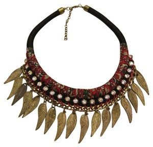 Free People NWOT Boho Globe Trotter Statement Necklace