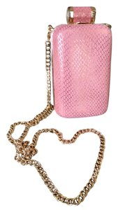 Halston Rose Pink Clutch