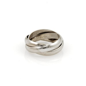 Cartier Cartier Trinity 18k White Gold Rolling Band Ring 3mm