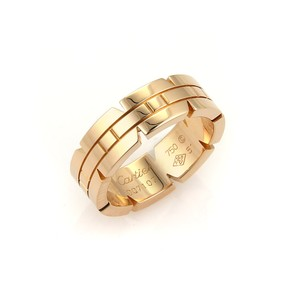 Cartier Cartier 18k Rose Gold Tank Francaise 6mm Band Ring