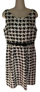 Kate Spade short dress black and white Bow Silk on Tradesy